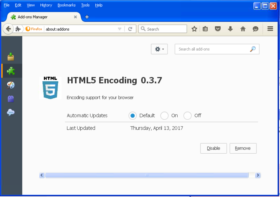 Turla's watering hole campaign: An updated Firefox extension abusing