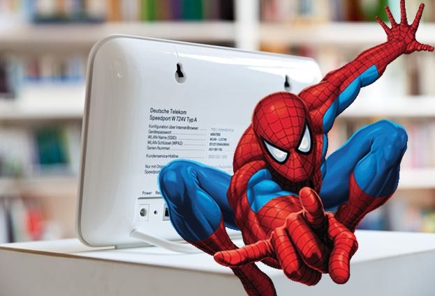 Spiderman pleads guilty to knocking 900,000 German broadband routers offline
