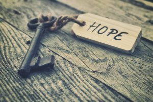 key to hope
