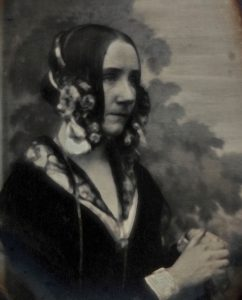 La seule photo connue d'Ada Lovelace (1842)
