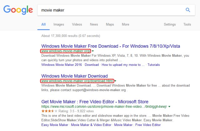 Windows Movie Maker Scam Spreads Massively Due To High