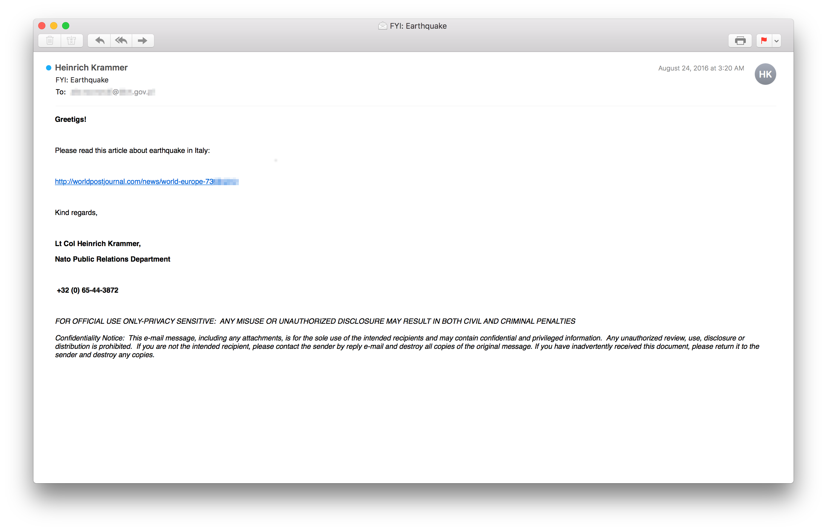 Fancy Bear Continue To Operate Through Phishing Emails And Much More