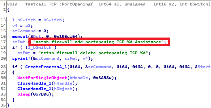 - TCP backdoor portopening 0 - Lazarus likely behind recent attacks at online casino, other targets