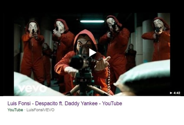 - despacito - The world's most popular YouTube video has been hacked