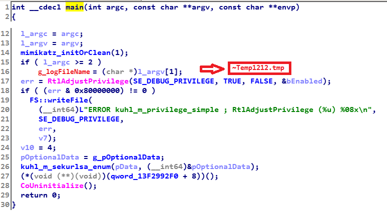 - mimikatz 0 2 - Lazarus likely behind recent attacks at online casino, other targets