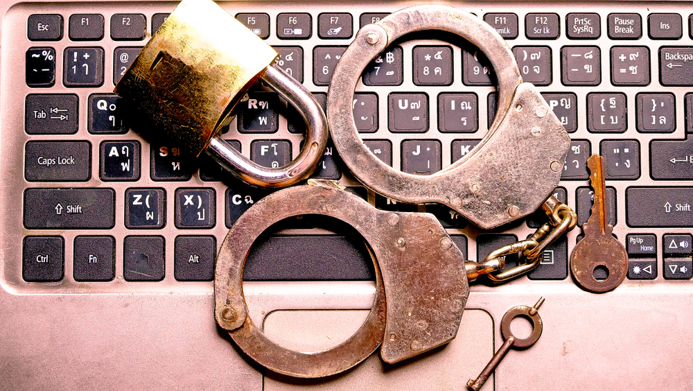 Arrests  - shutterstock 1063162961 - Arrests and indictments are plentiful in part 1 of our cybercrime digest
