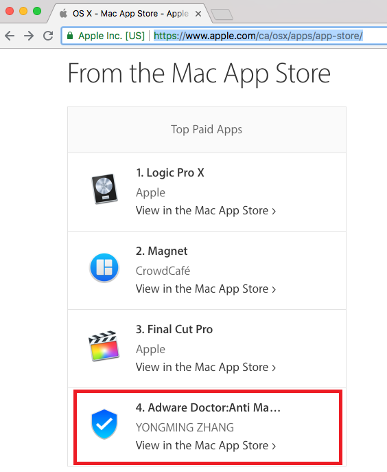 - Screenshot Adware Doctor 2 - Mac App Store removes popular Adware Doctor over privacy fears