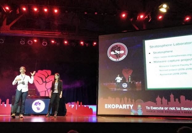 ESET presente en la Ekoparty 2012: training, workshop, reto y… ¿pochoclos?