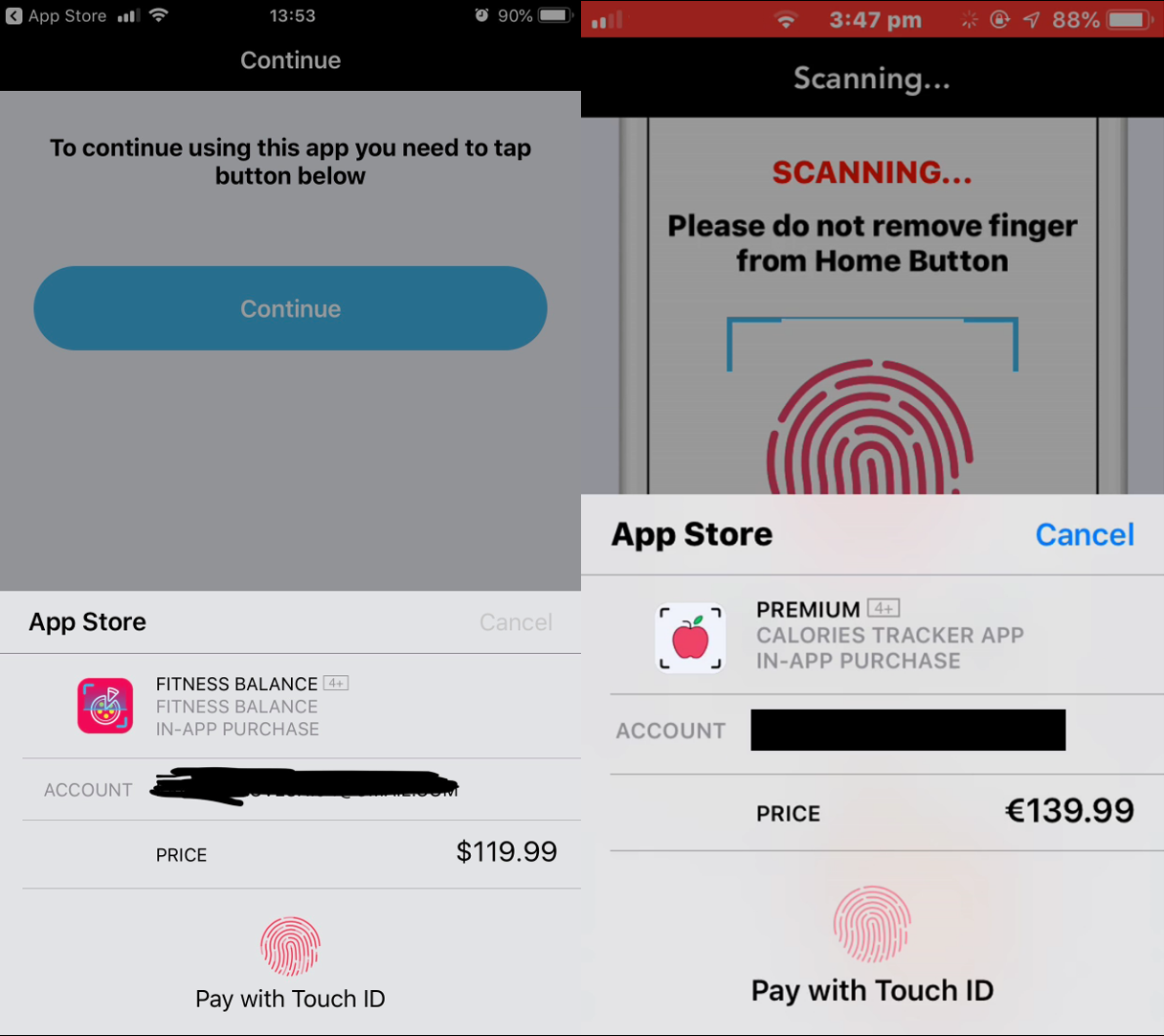 scam ios apps promise fitness steal money instead