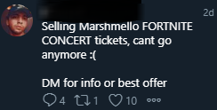 - Concierto Marshmello Fortnite hito atrajo estafadores 2 1 - An iconic event that also attracted scammers