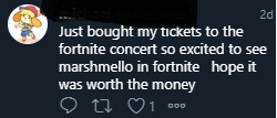 - Concierto Marshmello Fortnite hito atrajo estafadores 3 - An iconic event that also attracted scammers