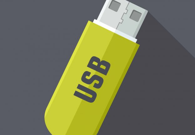 Most second-hand thumb drives contain data from past owners
