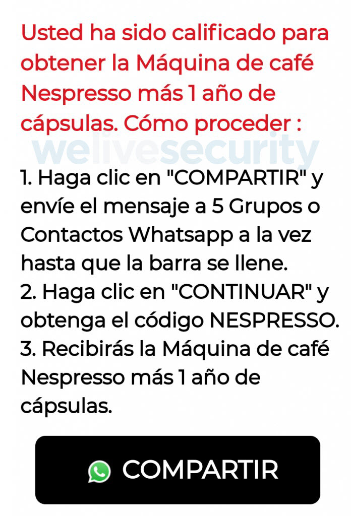 https://www.welivesecurity.com/wp-content/uploads/2019/04/Phishing-activo-WhatsApp-promete-cafetera-gratis-Nespresso-2.jpg