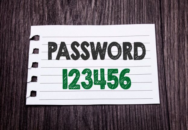 A short history of the computer password