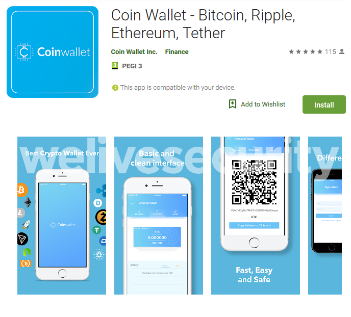 Fake cryptocurrency apps crop up on Google Play as bitcoin