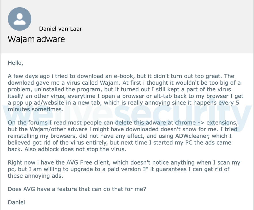 - Figure 3 - Wajam: From start-up to massively-spread adware