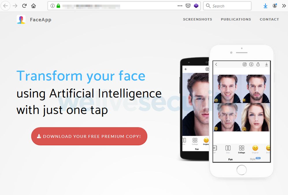 With FaceApp in the spotlight, new scams emerge | WeLiveSecurity