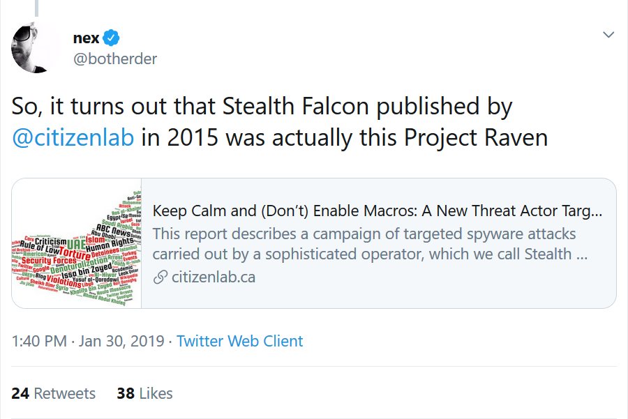 - Figure - ESET discovered an undocumented backdoor used by the infamous Stealth Falcon group
