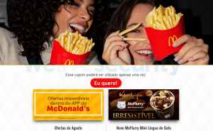 - Figure07 FakeWebsites 300x185 - Mispadu: Advertisement for a discounted Unhappy Meal