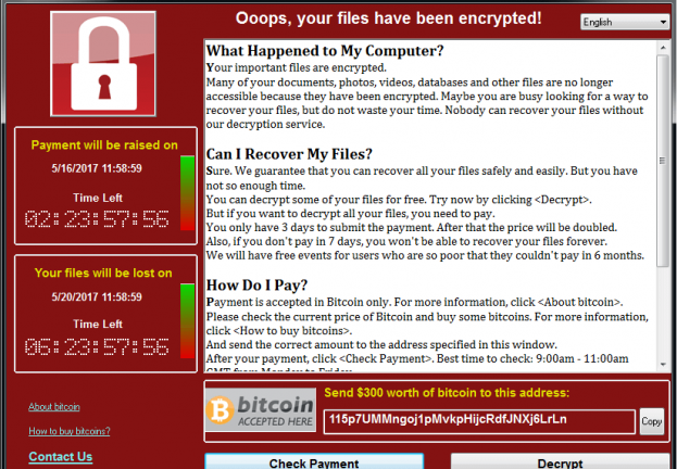 WannaCryptor remains a global threat three years on