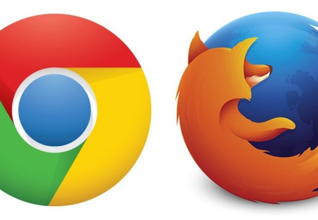 New Chrome, Firefox versions fix security bugs, bring productivity features