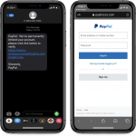 PayPal users targeted in new SMS phishing campaign