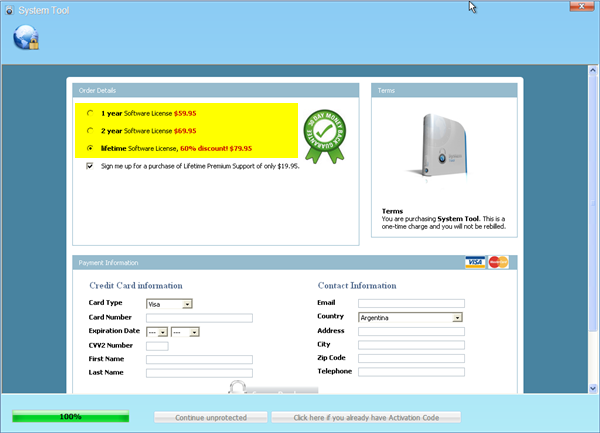 System tool pago