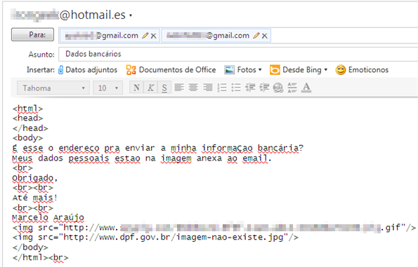 Mail al phisher
