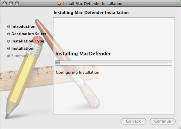 Mac Defender - Instalación