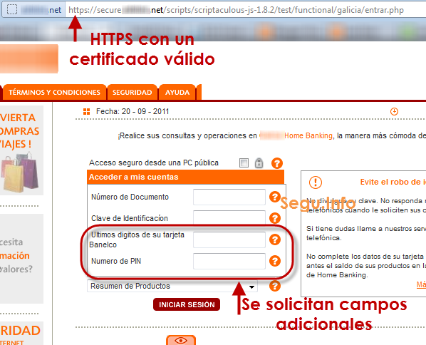 Phishing por HTTPS