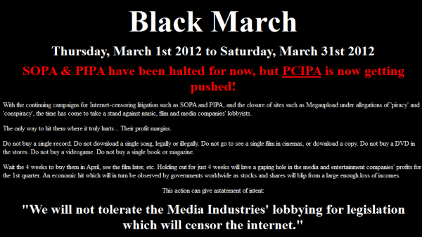 Black March 2012