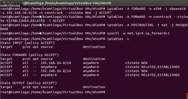Iptables Linux